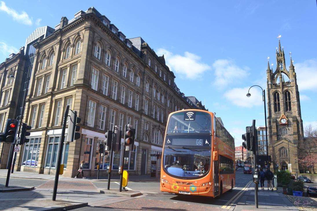 Newcastle Upon Tyne - European Feel by YS-Liliumsynth