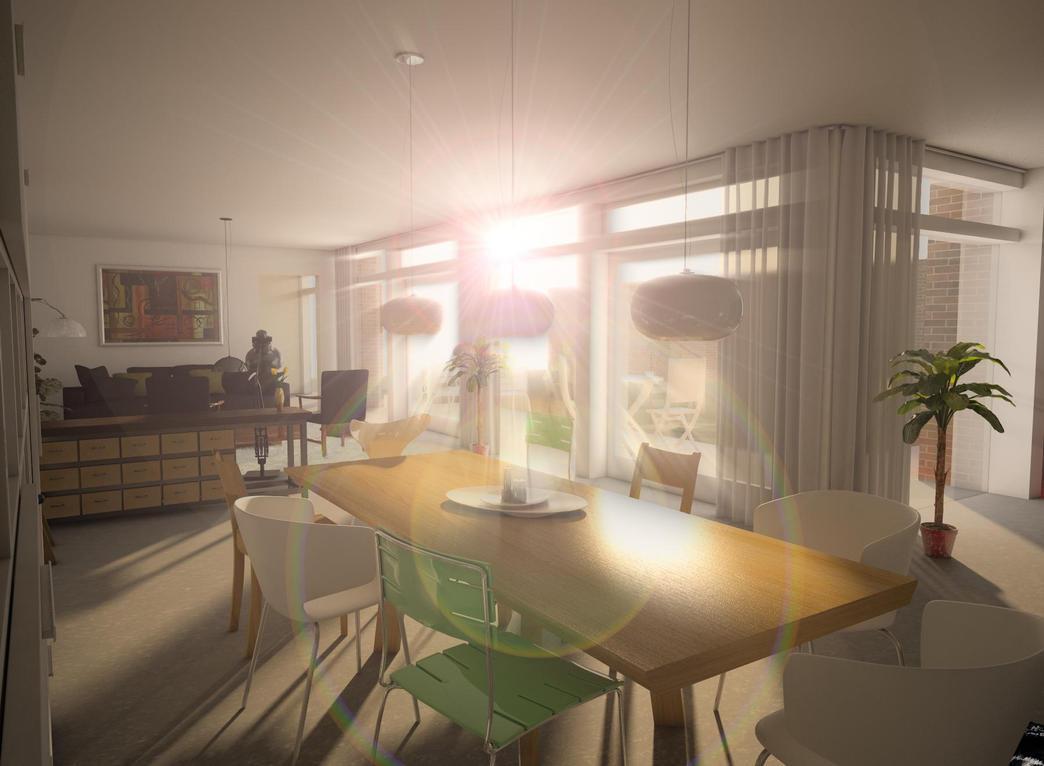Indoors Sunset by bobi-z