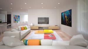Magenta Livingroom