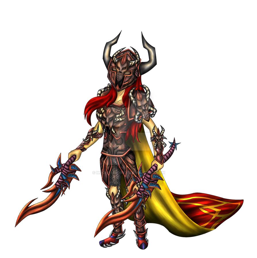 Warrior by MuchPainInside