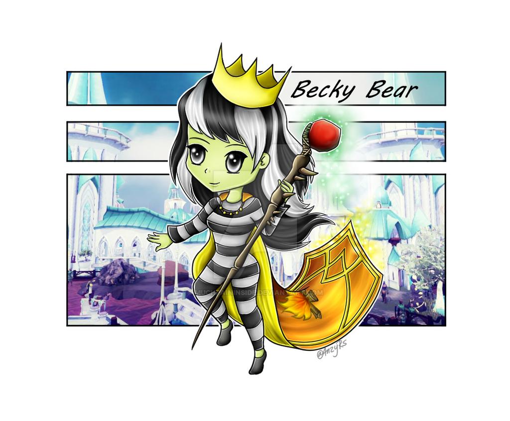 Becky Bear by MuchPainInside