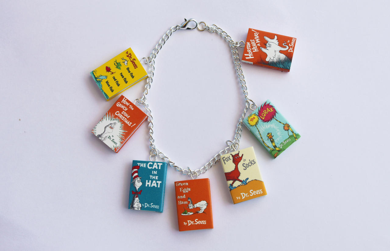 Dr. Seuss Book Bracelet by Saint-Rise