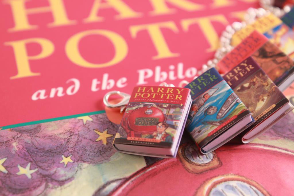 Harry Potter Miniature Book Bracelet by Saint-Rise