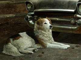 The Good Dog by FuzzyPantaloons