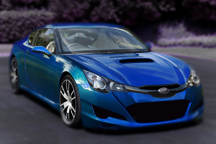 Subaru FT-86, preview by psas