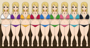 Lucy Heartfilia (Swimsuits)