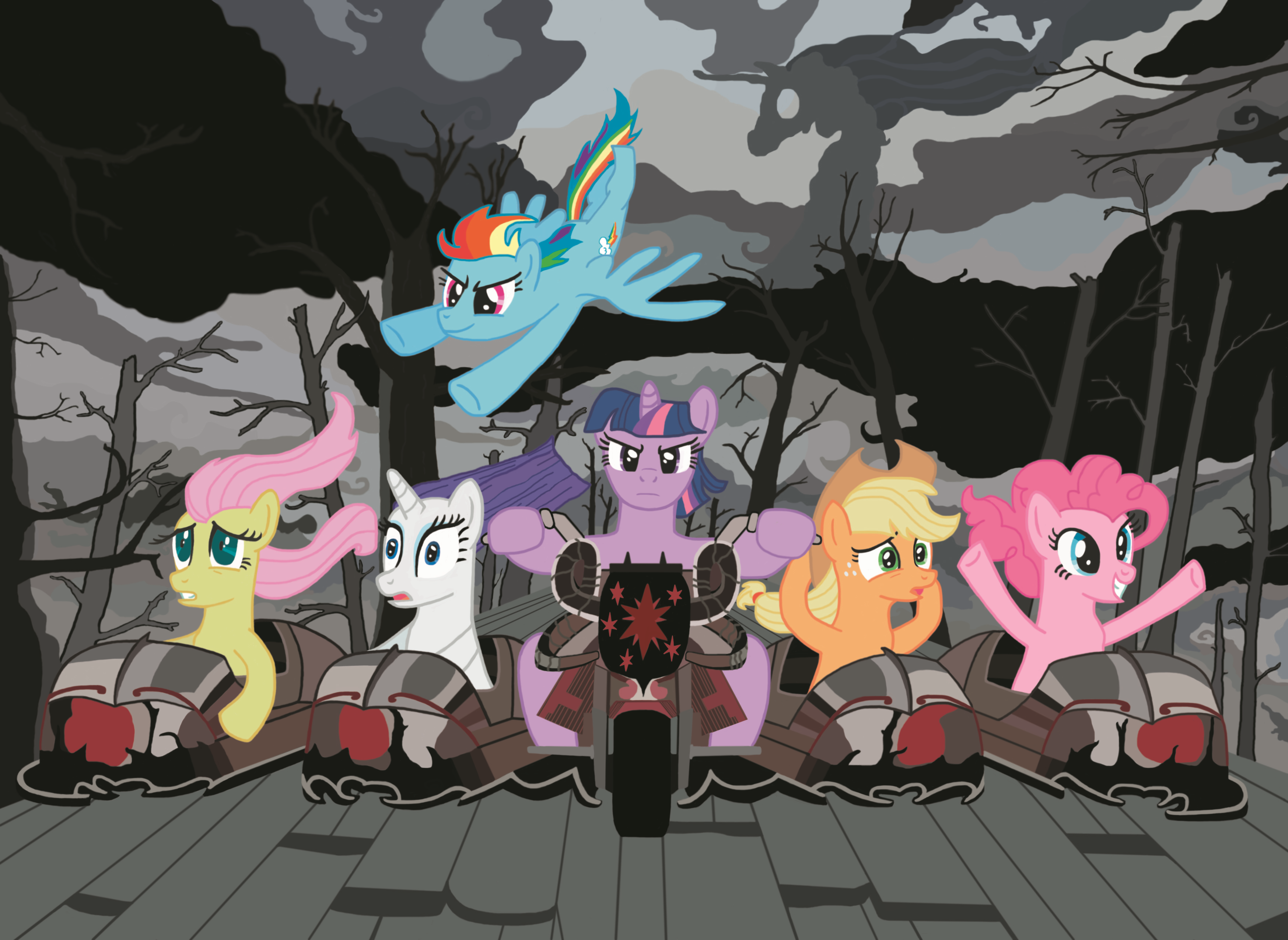 ponycalypse by neodabig on deviantart