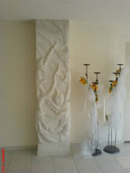 my wall sculpture and by giolord11