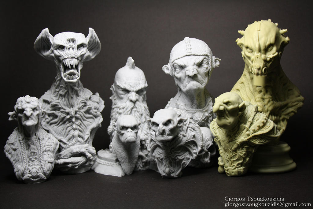 my work resin kits 2014 by giolord11