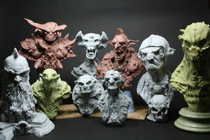 my sculptures work 2014 by giolord11