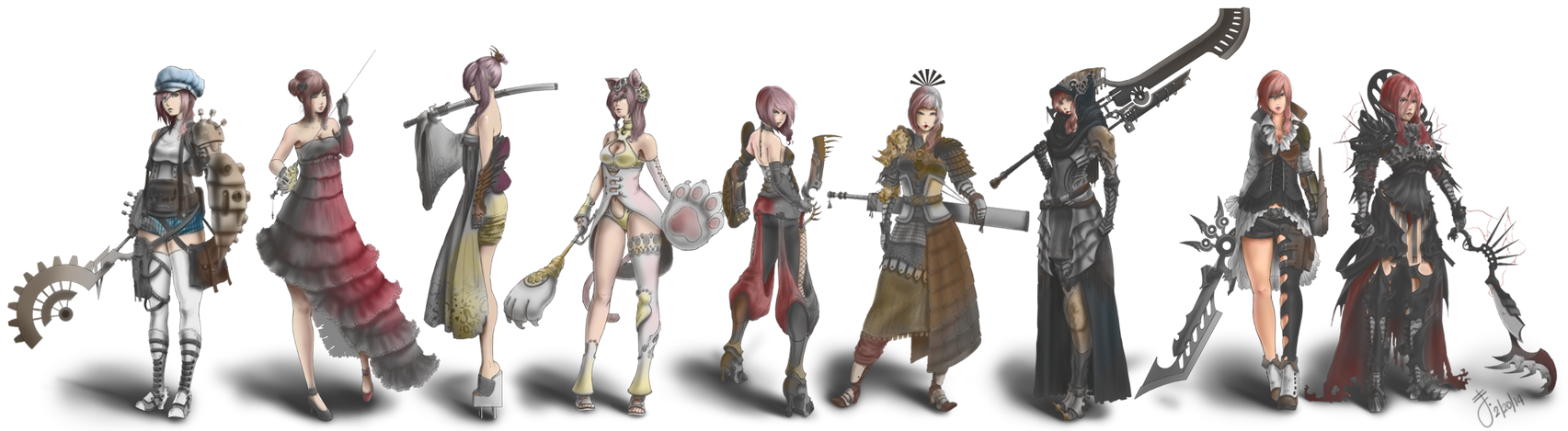 Final fantasy xiii lightning returns costumes - photo#25