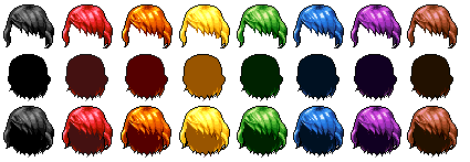Custom hair template 01 by ModernSorcery on DeviantArt
