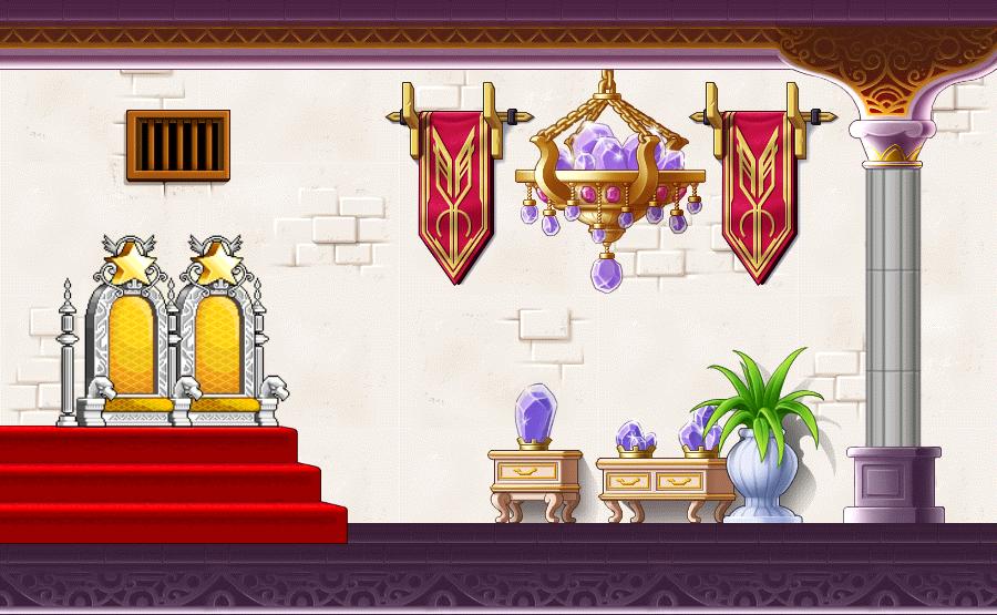 Hayaku Wings King Leorks Throne Room By ModernSorcery