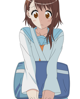 Nisekoi - Looking Down Onodera Vector