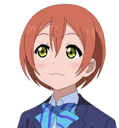 Love Live! - Playing Dumb Rin Vector