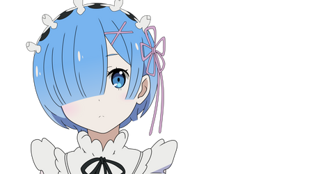 Re:Zero Rem Vector
