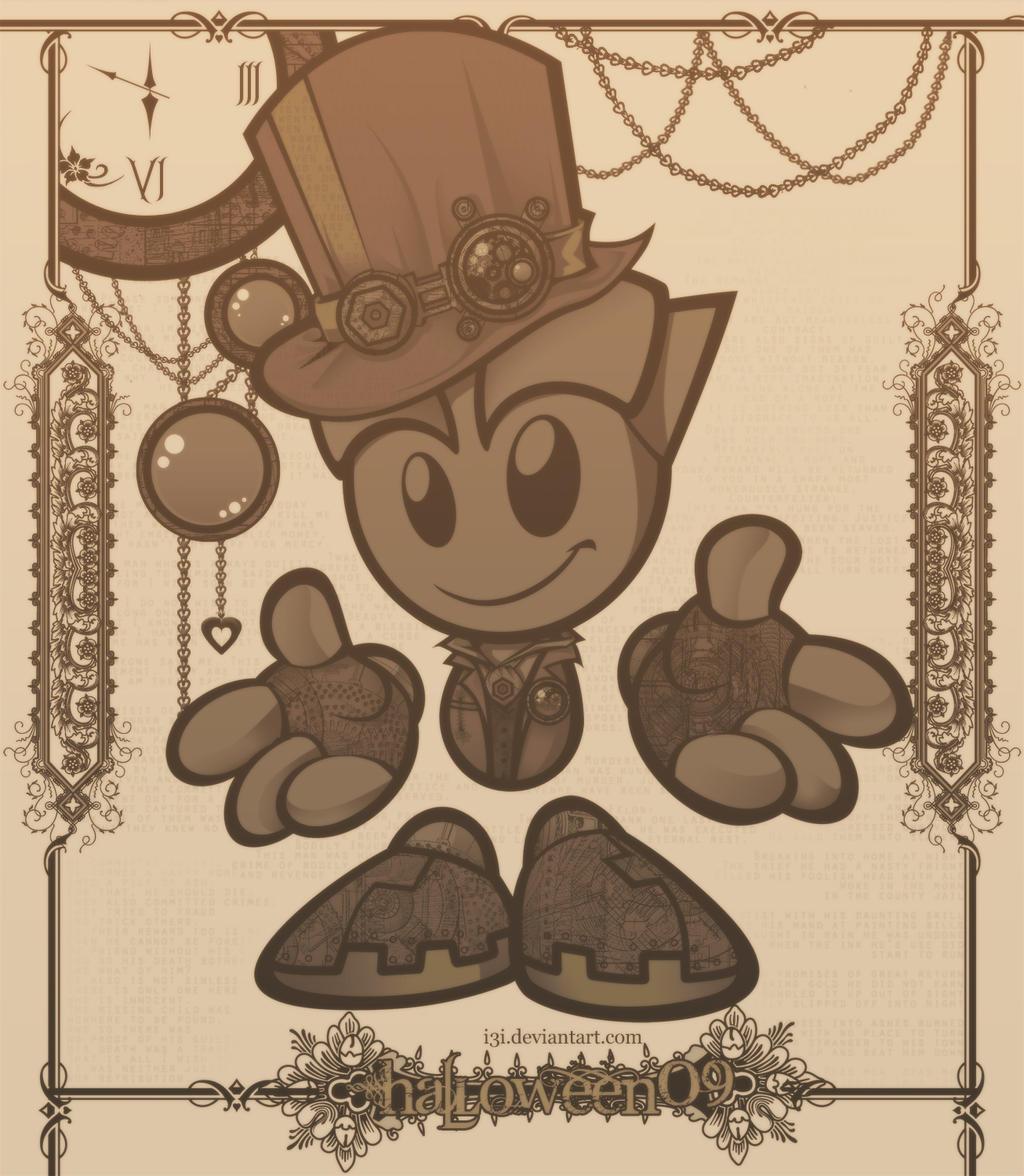 Entry : Steampunk Fella by I3I