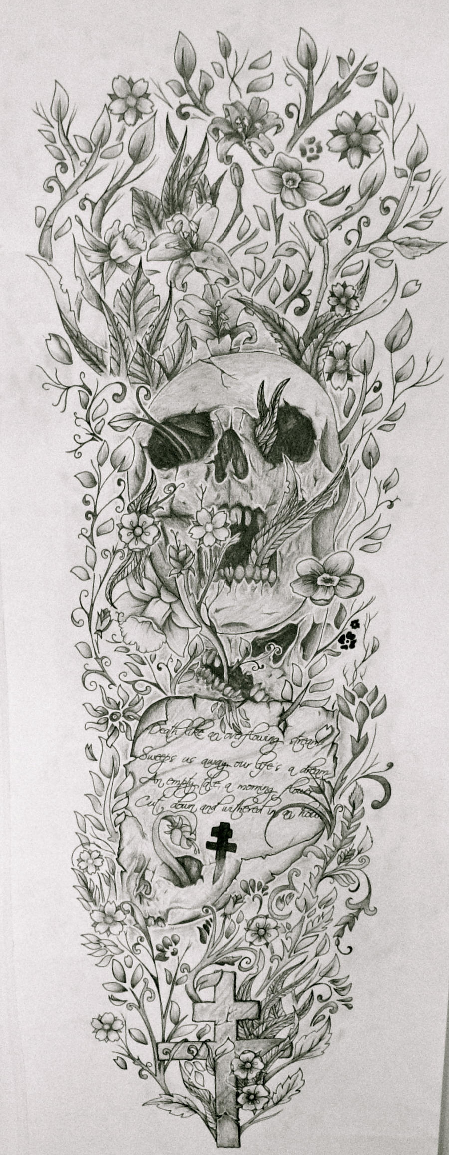 Tattoo Sleeve Sketches: Full Sleeve By Josephblacktattoos On DeviantArt