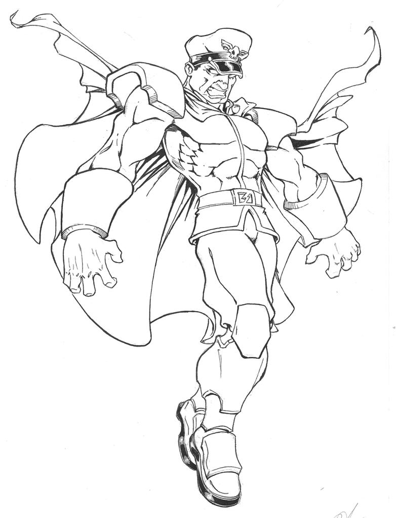 street fighter coloring pages - photo#20