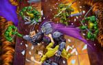 Teenage Mutant Ninja Turtles II Arcade Game