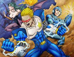 Capcom Team Up