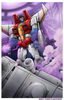 Starscream Vs. Megatron