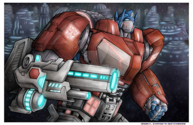 Optimus Prime: War For Cybertron