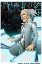Dr. Wily and Gamma