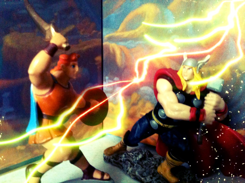 Thor VS. Hercules (MARVEL vs. DISNEY) by luxordrocks1995 ...