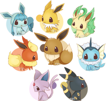 Eeeeeeevolutions by r3nisa