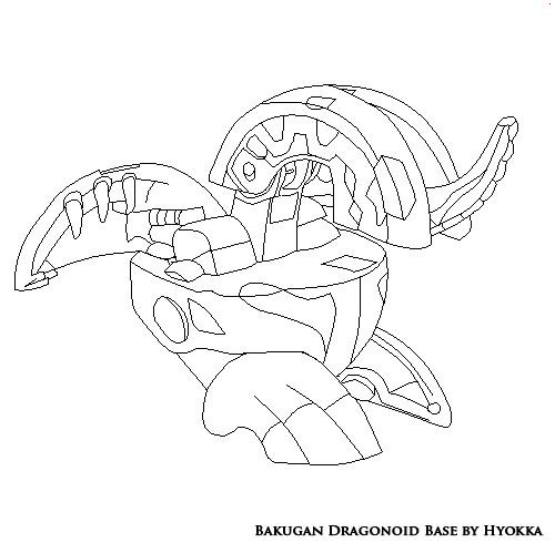 Bakugan Dragonoid Base by hyokka