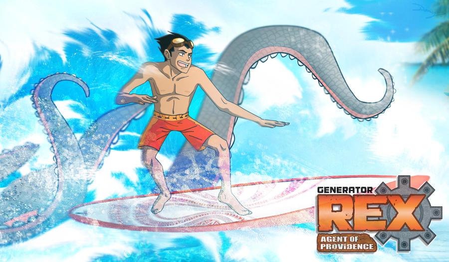 GR: REX. surfing? by hyokka
