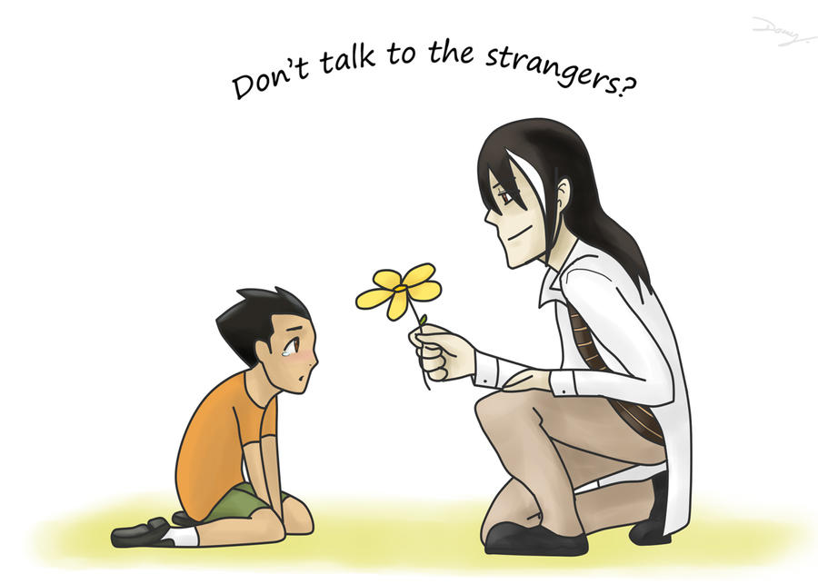 GR: Dont talk to the strangers by hyokka
