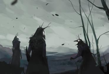 A shriek in the wind by hyokka