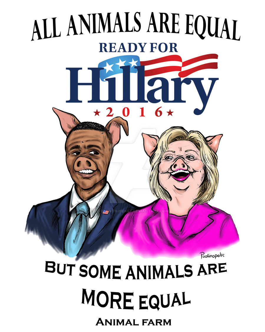 animal farm a political satire by george orwell George orwell's animal farm is a political satire of a totalitarian society ruled by a  mighty dictatorship, in all probability an allegory for the events.