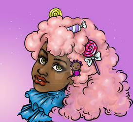 Cotton Candy Girl