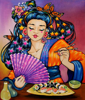 001 Sushi girl