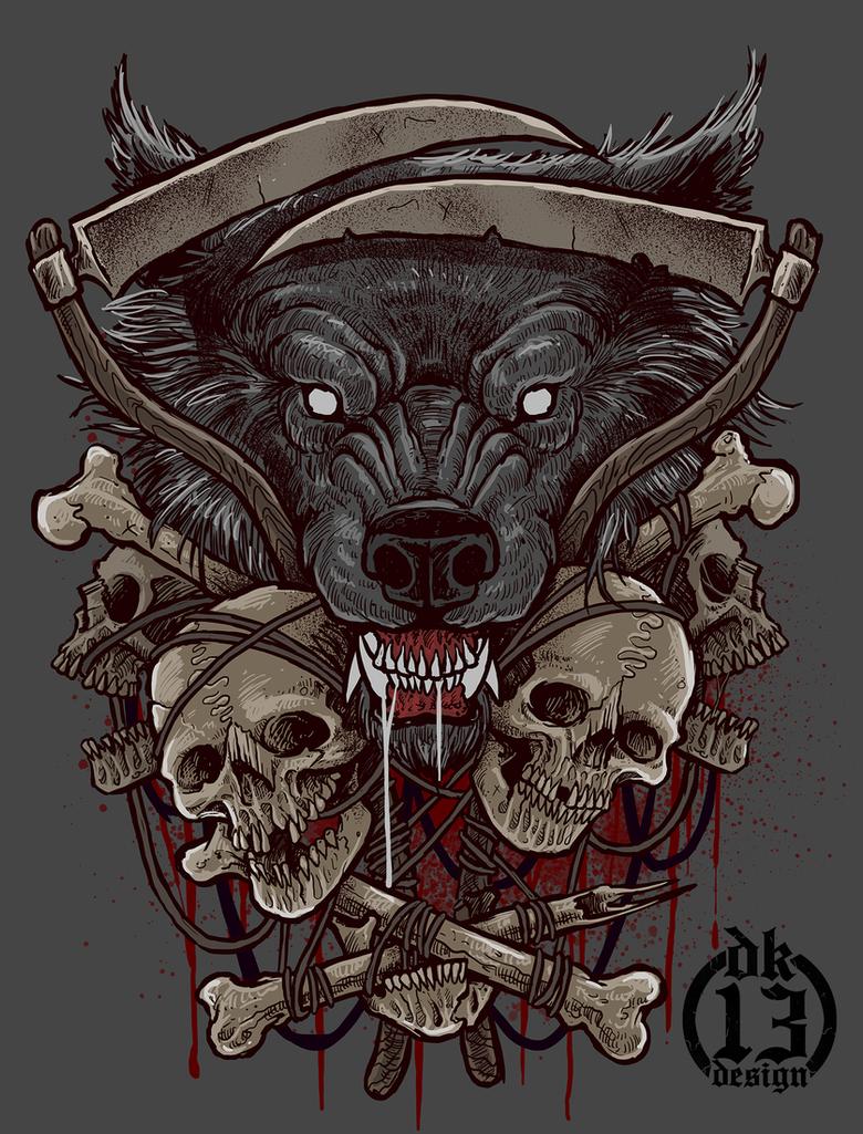 Wolf by DK13Design