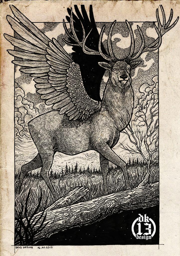 Deer by DK13Design