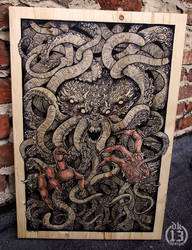 Wooden Cthulhu!