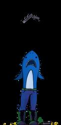 Sharky the Spaceshark by SafaraPhoenix