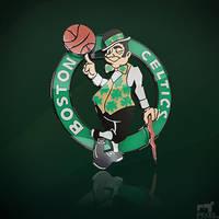 NBA Team Boston Celtics by nbafan