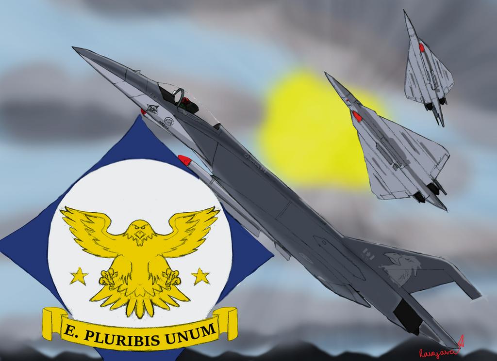 Eagle Squadron by Ravajava