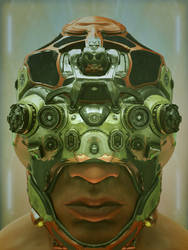 The Futuristic Voyeur by lockphase