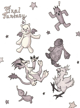 Final Fantasy Critters