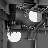 Escher - relativity - 2 by faelle