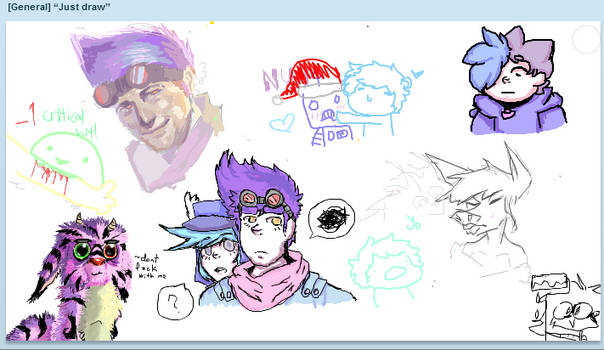 iscribble shenanigans