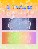 Pack  #3 Texturas  Light  (Contiene 8) by yssietwilighter