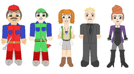 Super Mario Bros. The Movie Sprite Art by lalalei2001