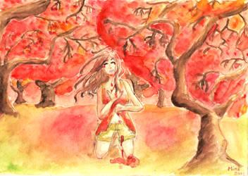 Day 1 : RED - Palette Challenge by MinaChawn